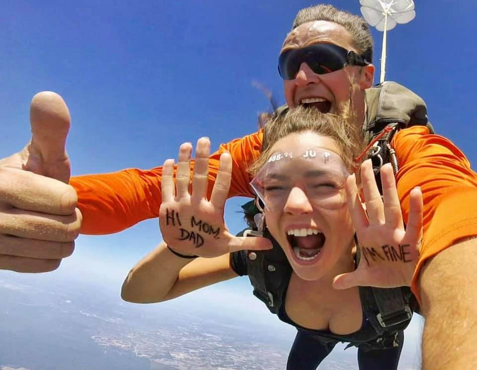 skydiving pictures