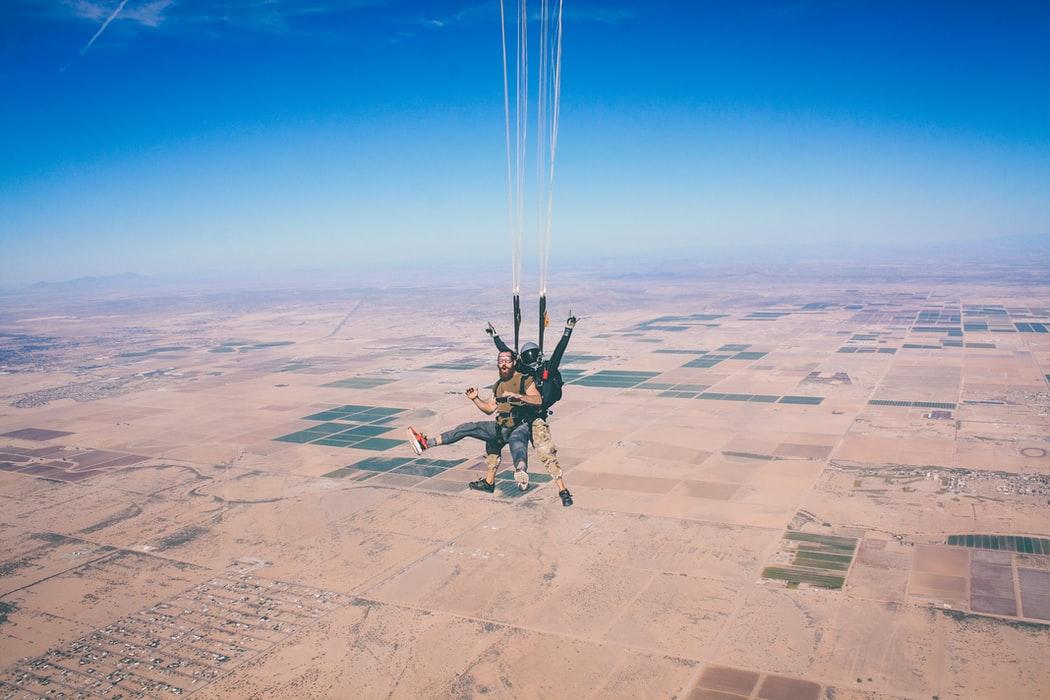 skydiving cost for tandem jump near savannah fl
