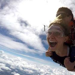 first time skydiving near savannah georgia